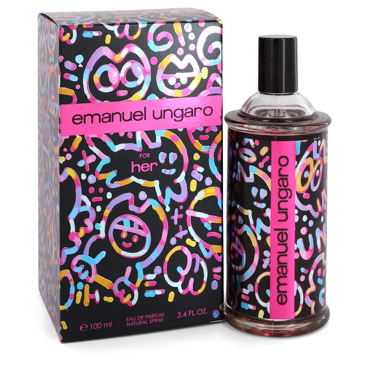 Ungaro For Her by Ungaro –  Eau De Parfum Spray 3.4 oz 100 ml for Women