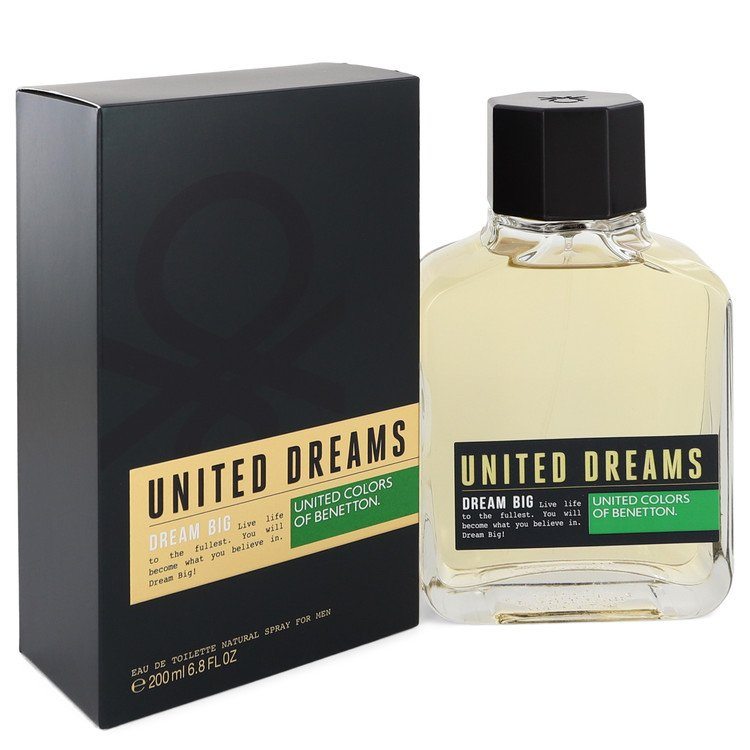 United Dreams Dream Big by Benetton Men's Eau De Toilette Spray 6.8 oz