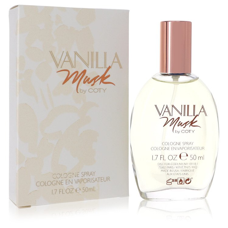 Vanilla Musk Perfume by Coty 50 ml Cologne Spray for Women