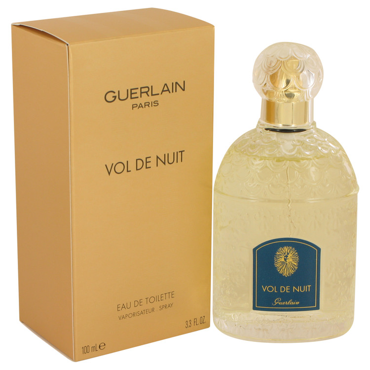 VOL DE NUIT by Guerlain Eau De Toilette Spray 3.3 oz