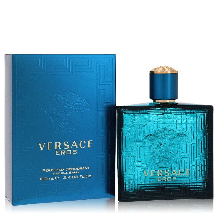 Versace Eros Deodorant by Versace 3.4 oz Deodorant Spray for Men