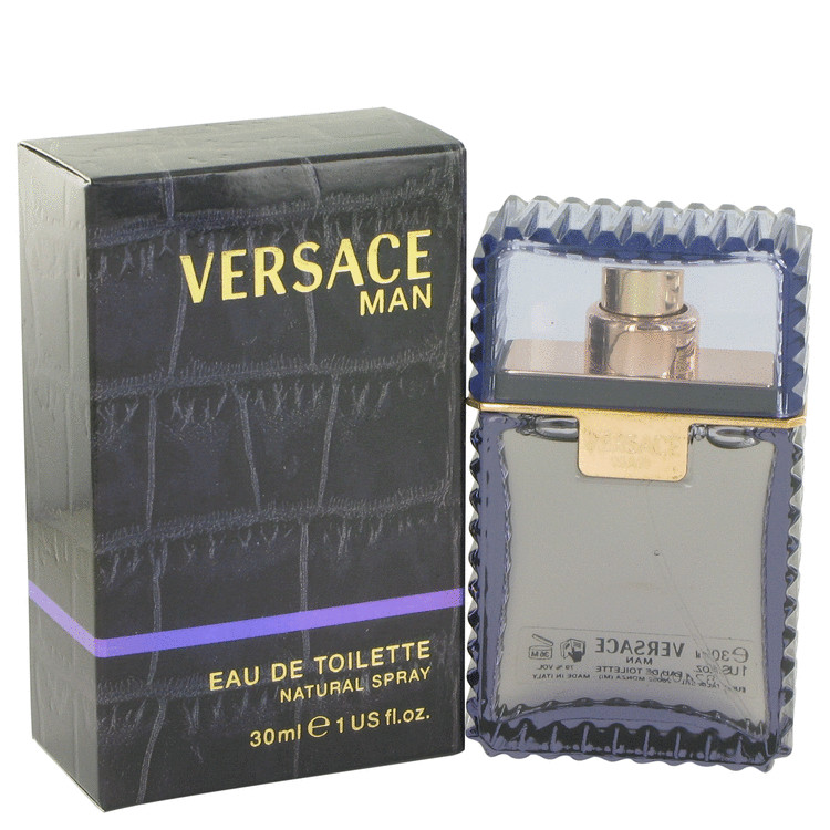 Versace Man Cologne by Versace 1 oz EDT Spray for Men