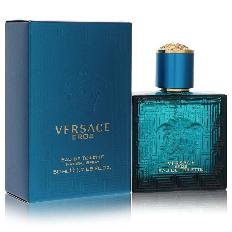 Versace Eros Cologne by Versace 50 ml Eau De Toilette Spray for Men