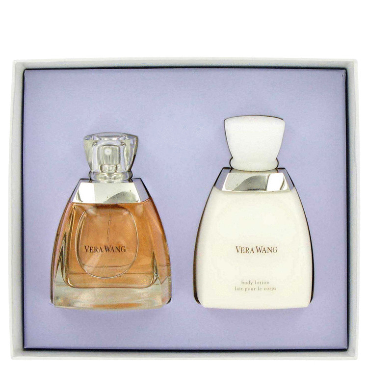 Vera Wang Gift Set -- Gift Set - 3.4 oz Eau De Parfum Spray + 6.7 oz Body Lotion for Women