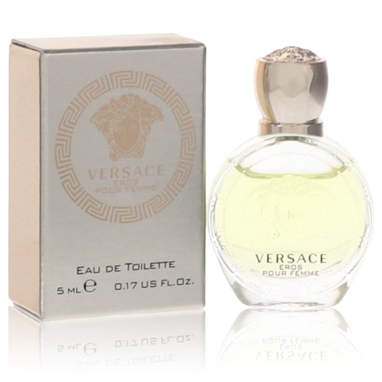 Versace Eros by Versace for Women Mini EDT .17 oz