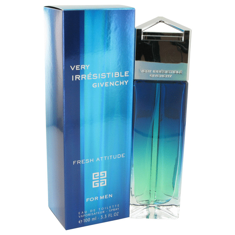 Very Irresistible Fresh Attitude Cologne 3.4 oz EDT Spay for Men