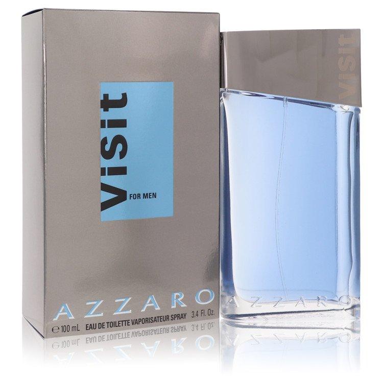 Visit Cologne by Azzaro 100 ml Eau De Toilette Spray for Men