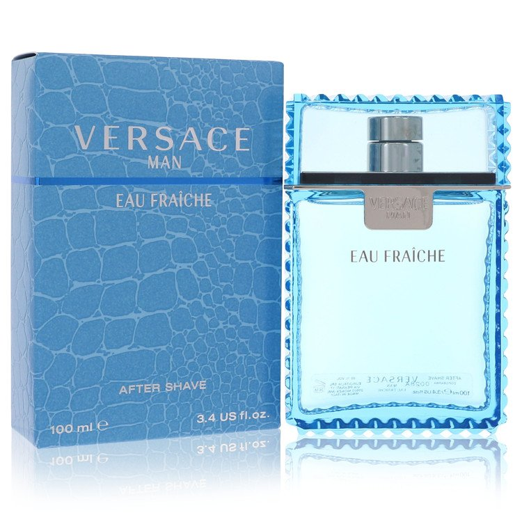 Versace Man After Shave 3.4 oz Eau Fraiche After Shave for Men