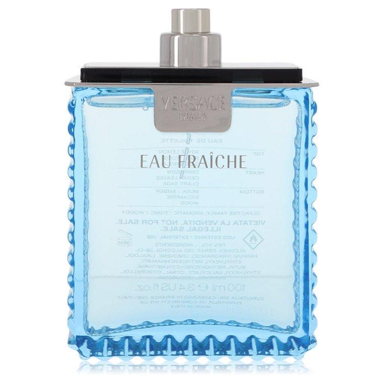Versace Man by Versace for Men Eau Fraiche Eau De Toilette Spray (Tester) 3.4 oz