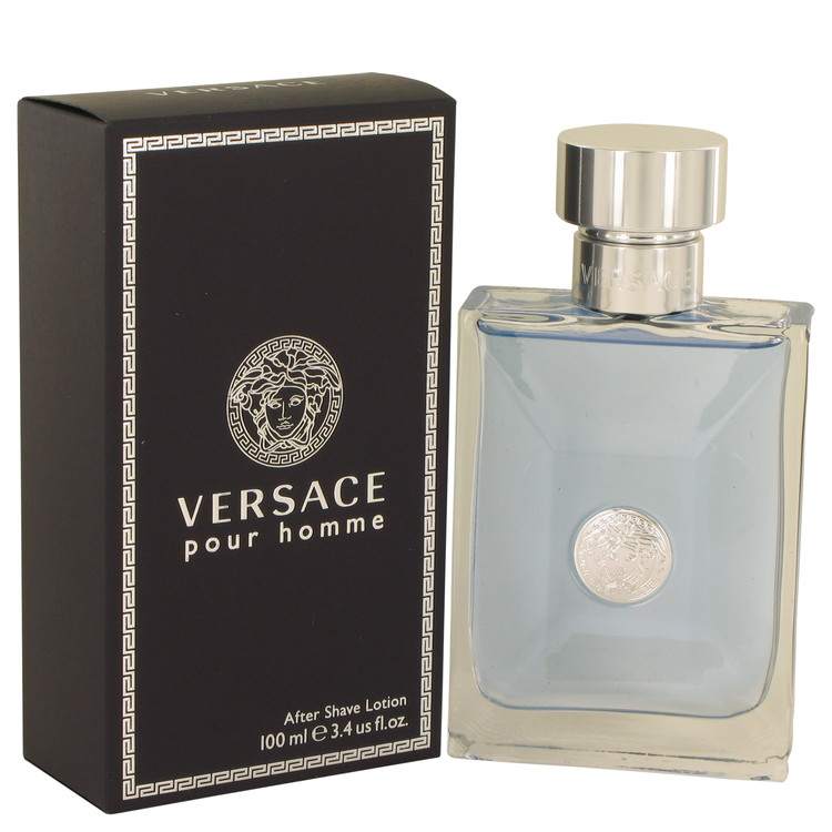 Versace Pour Homme by Versace for Men After Shave Lotion 3.4 oz
