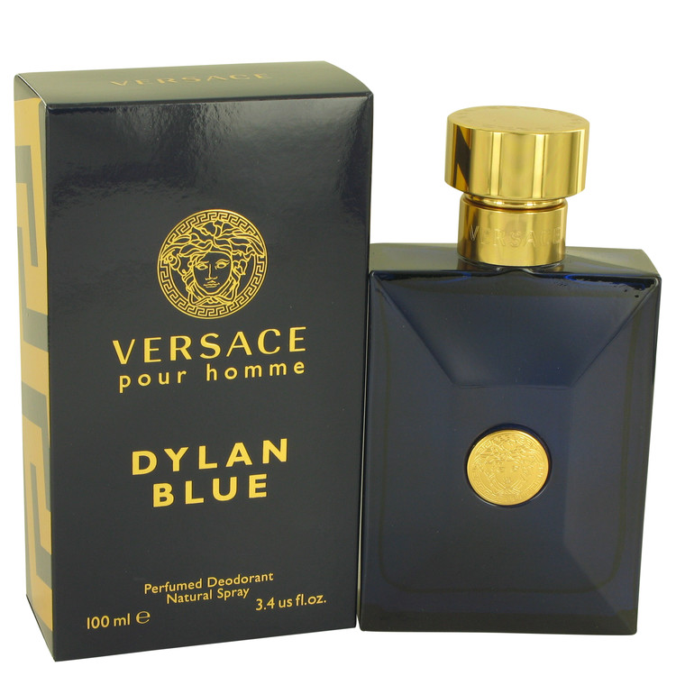 Versace Pour Homme Dylan Blue Deodorant 3.4 oz Deodorant Spray for Men