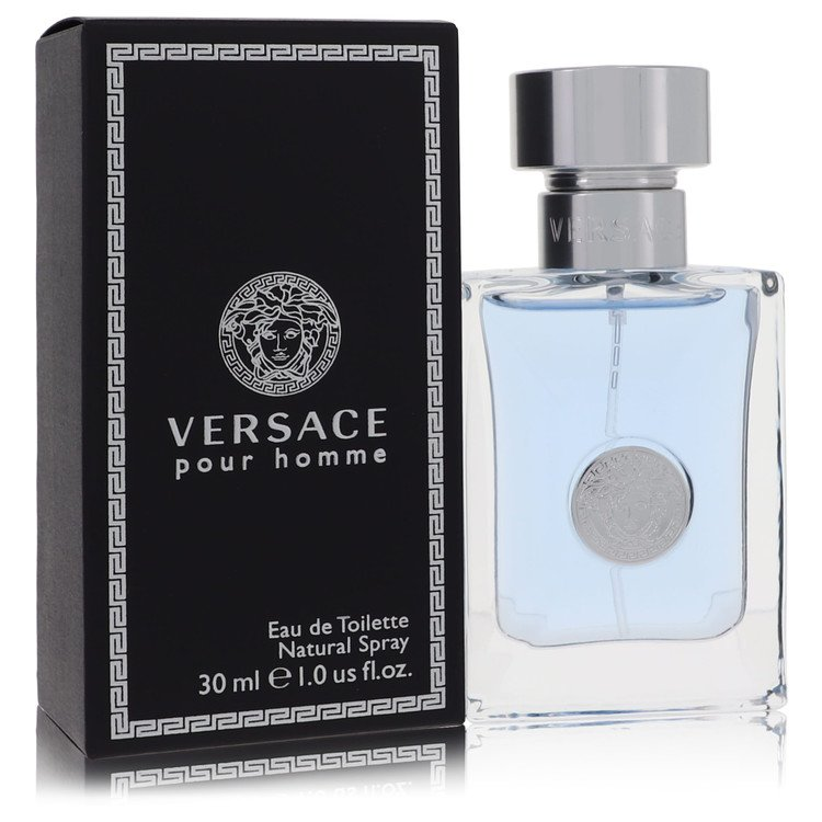 Versace Pour Homme Cologne by Versace 1 oz EDT Spay for Men