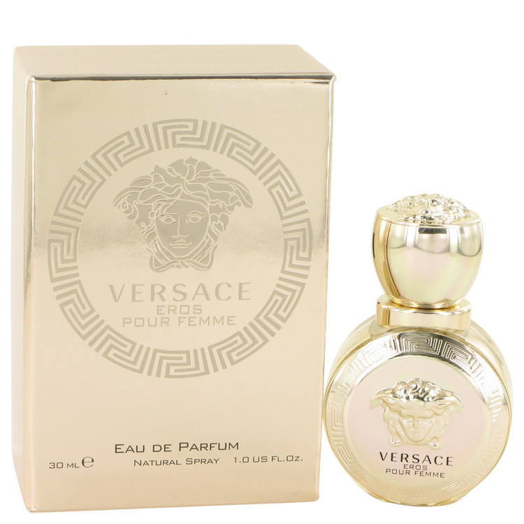 Versace Eros by Versace for Women Eau De Parfum Spray 1 oz