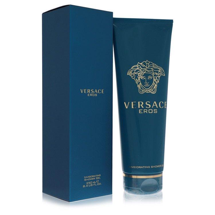 Versace Eros Shower Gel by Versace 8.4 oz Shower Gel for Men