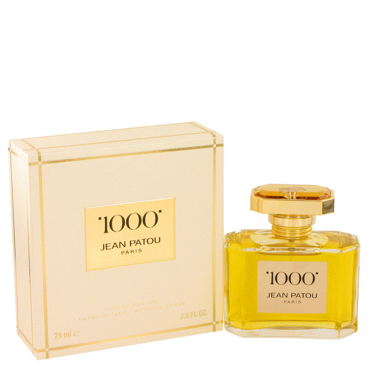 1000 by Jean Patou for Women Eau De Parfum Spray 2.5 oz