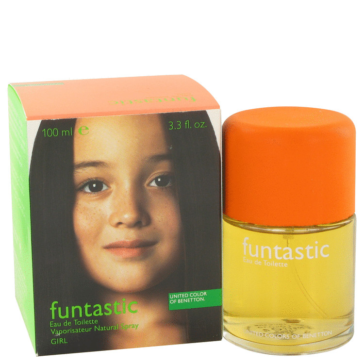 Funtastic Girl Perfume by Benetton 100 ml EDT Spay for Women