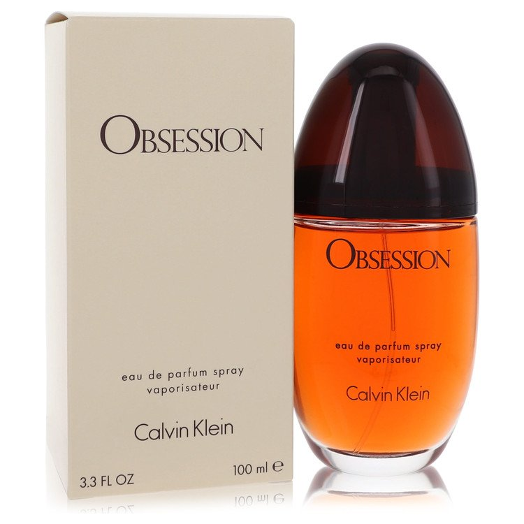 Obsession by Calvin Klein Women's Eau De Parfum Spray 3.4 oz