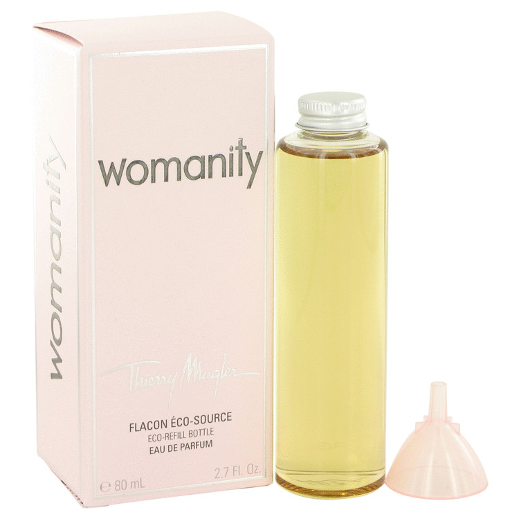 Womanity by Thierry Mugler for Women Eau De Parfum Refill 2.7 oz