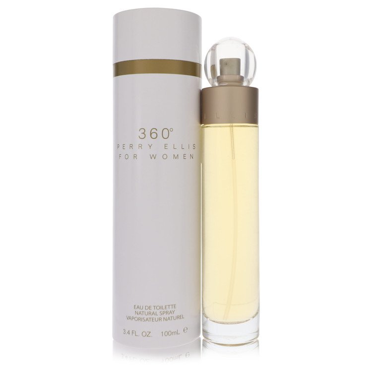 Perry Ellis 360 by Perry Ellis Women's Eau De Toilette Spray 3.4 oz