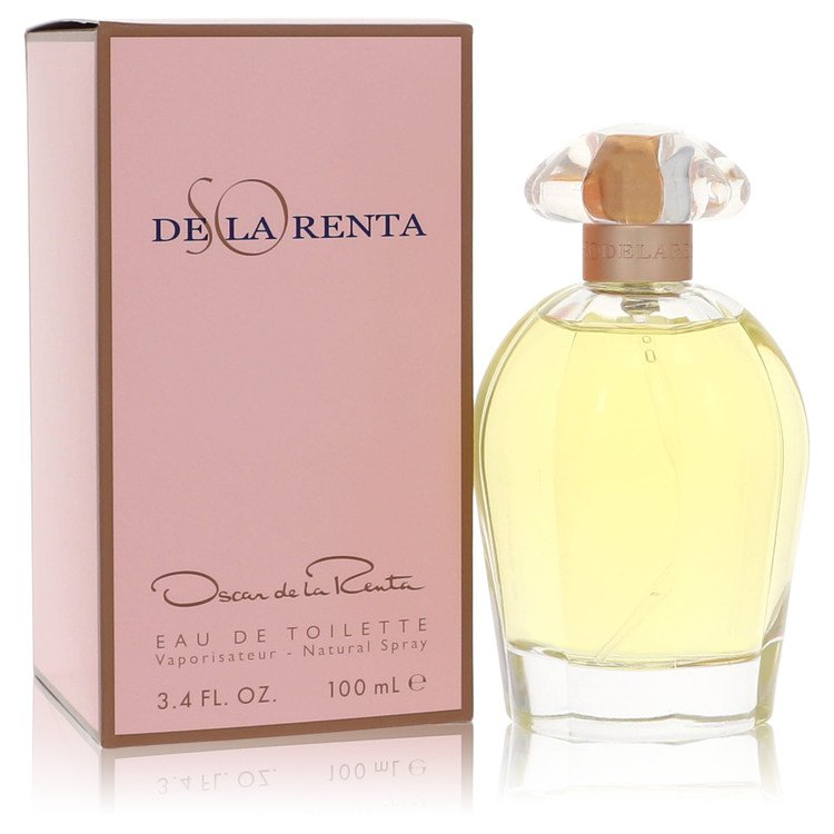 SO DE LA RENTA by Oscar de la Renta for Women Eau De Toilette Spray 3.4 oz