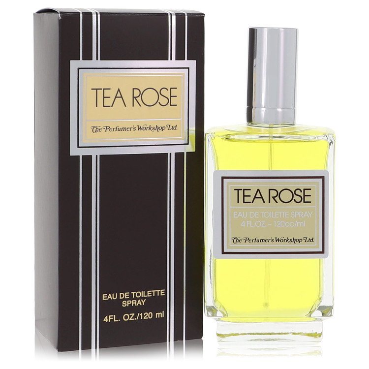 Tea Rose Perfume by Perfumers Workshop 120 ml EDT Spay for Women