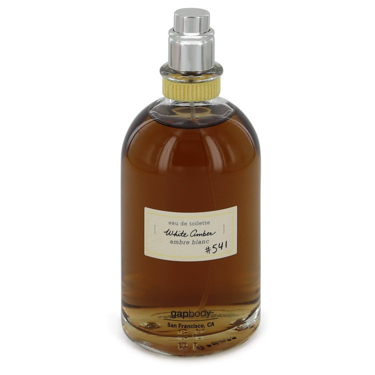 White Amber 541 Perfume by Gap 3.4 oz EDT Spray(Tester) for Women