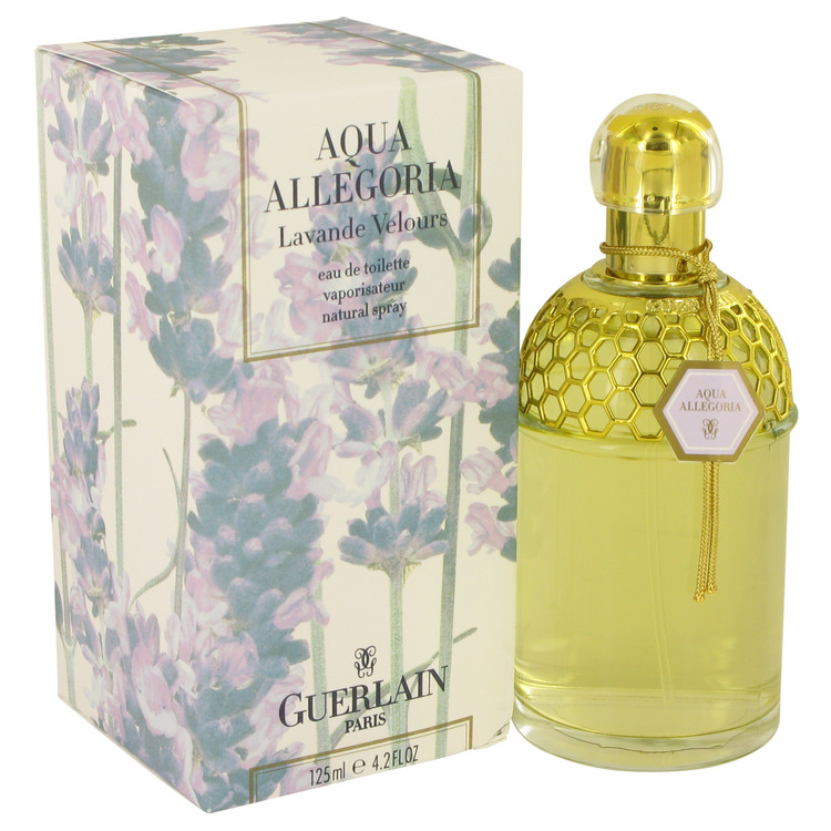 AQUA ALLEGORIA LAVANDE VELOURS by Guerlain Eau De Toilette Spray 4.2 oz