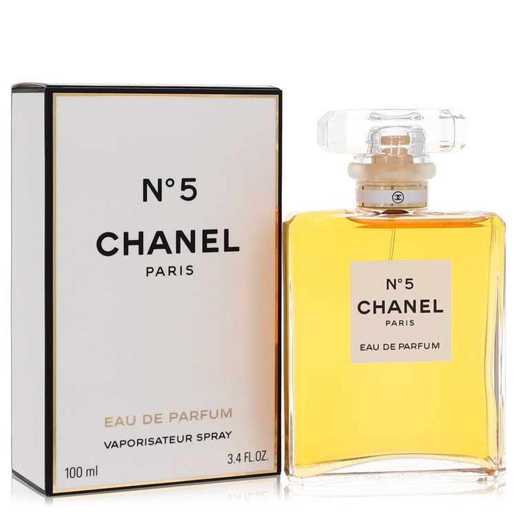 CHANEL No. 5 by Chanel for Women Eau De Parfum Spray 3.4 oz