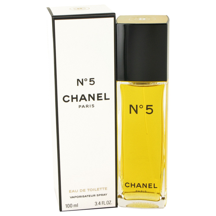 Chanel No. 5 Perfume by Chanel 100 ml Eau De Toilette Spray for Women