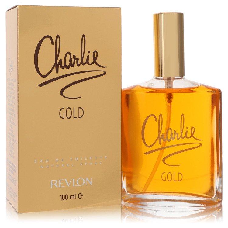 CHARLIE GOLD by Revlon for Women Eau De Toilette Spray 3.3 oz
