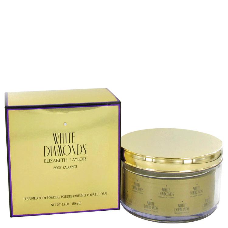WHITE DIAMONDS by Elizabeth Taylor for Women Body Powder Refillable 5.3 oz