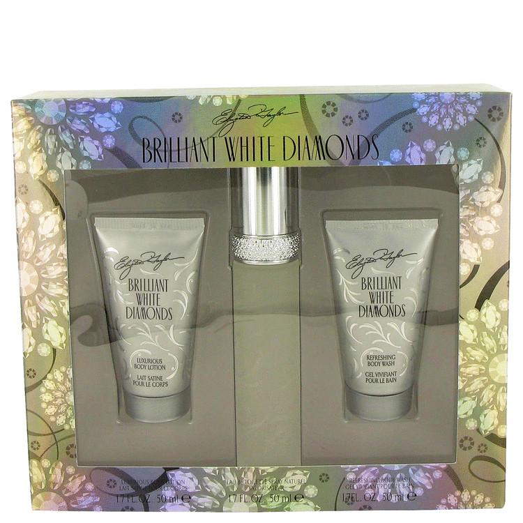White Diamonds Brilliant Gift Set -- Gift Set - 1.7 oz Eau De Toilette Spray + 1.7 oz Body Lotion + 1.7 oz Body Wash for Women