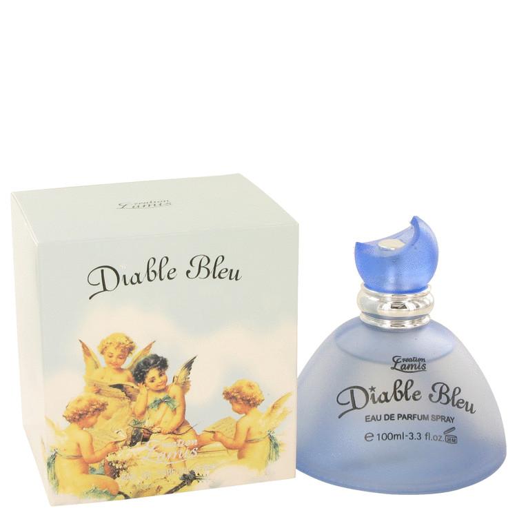 DIABLE BLEU by Creation Lamis for Women Eau De Parfum Spray 3.4 oz