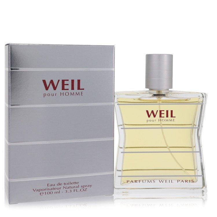 Weil Pour Homme by Weil for Men Eau De Toilette Spray 3.4 oz
