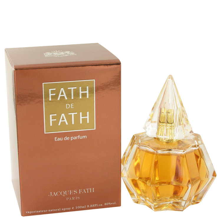 FATH DE FATH by Jacques Fath for Women Eau De Parfum Spray 3.4 oz