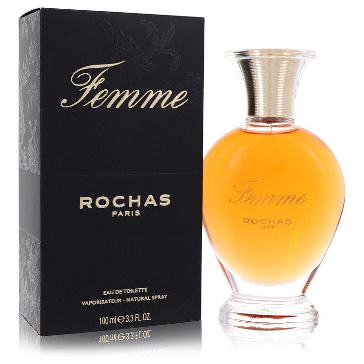 Femme Rochas Perfume by Rochas 100 ml Eau De Toilette Spray for Women