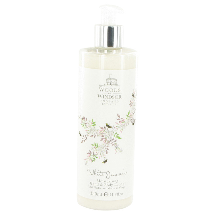 White Jasmine by Woods of Windsor for Women Body Lotion 11.8 oz