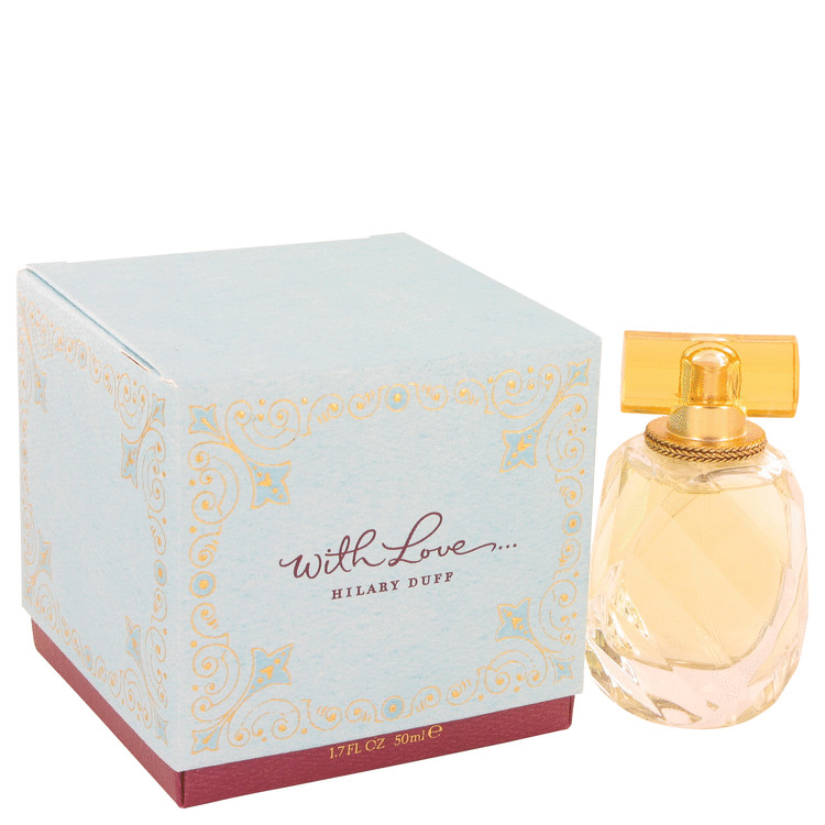 With Love Perfume by Hilary Duff 50 ml Eau De Parfum Spray for Women