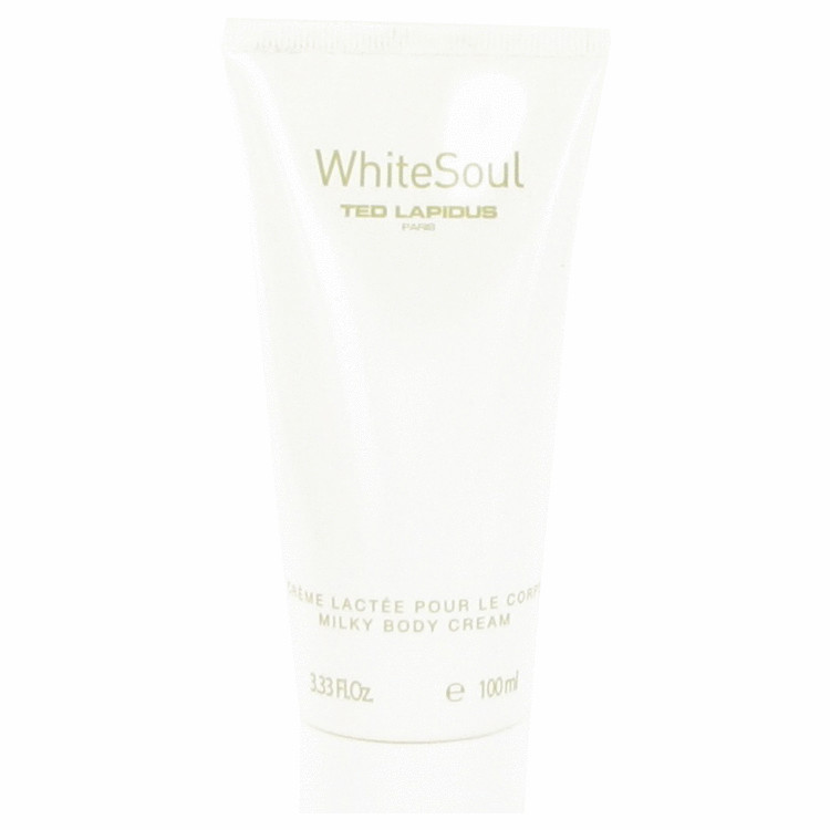 White Soul by Ted Lapidus for Women Body Cream 3.3 oz