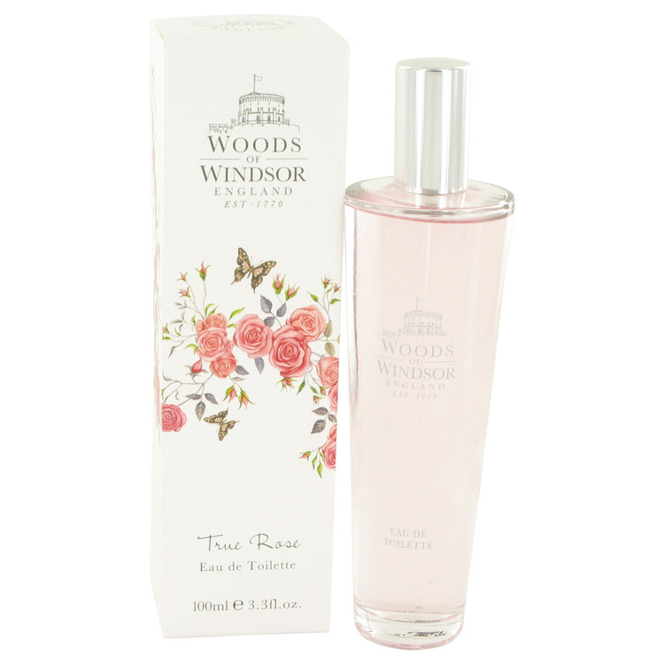 True Rose Perfume by Woods Of Windsor 100 ml EDT Spay for Women