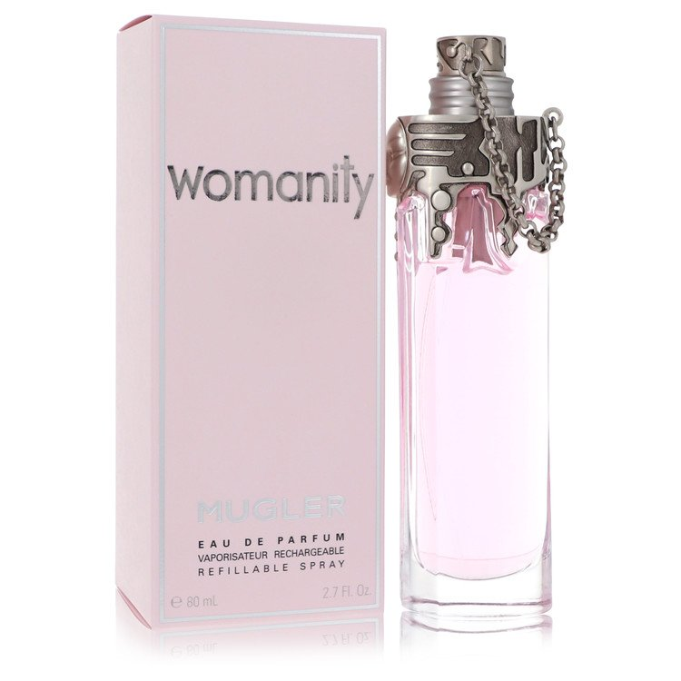 Womanity by Thierry Mugler Women's Eau De Parfum Refillable Spray 2.7 oz