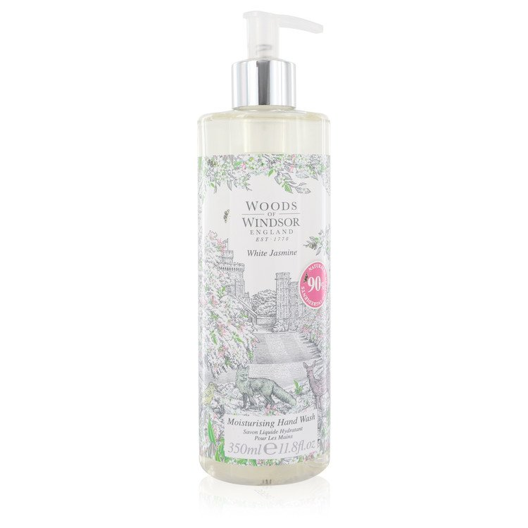 White Jasmine by Woods of Windsor –  Hand Wash 11.8 oz 349 ml for Women