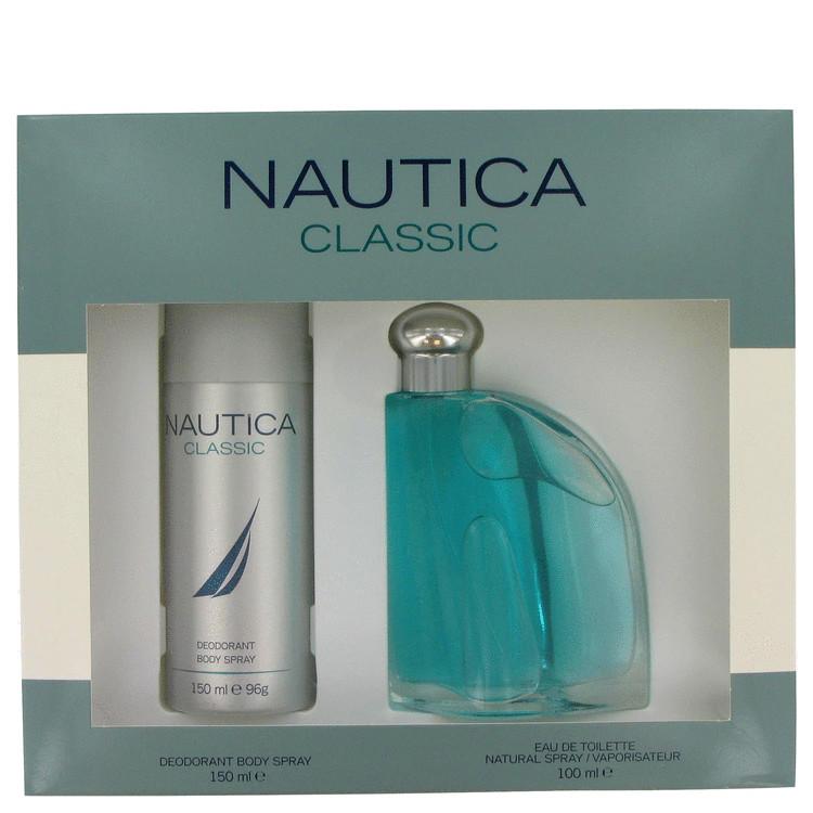 Nautica Gift Set -- Gift Set - 3.4 oz Eau De Toilette Spray + 5 oz Deodorant Body Spray for Men