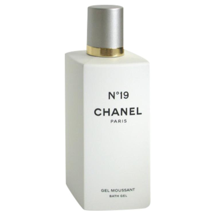 Chanel 19 Shower Gel by Chanel 6.6 oz Bath Gel for Women