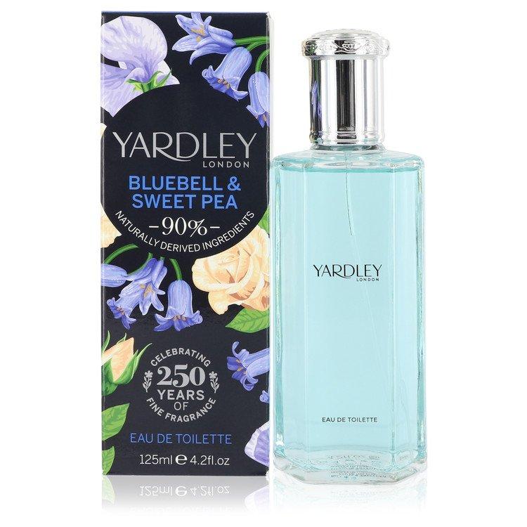 Yardley Bluebell & Sweet Pea by Yardley London Women's Eau De Toilette Spray 4.2 oz