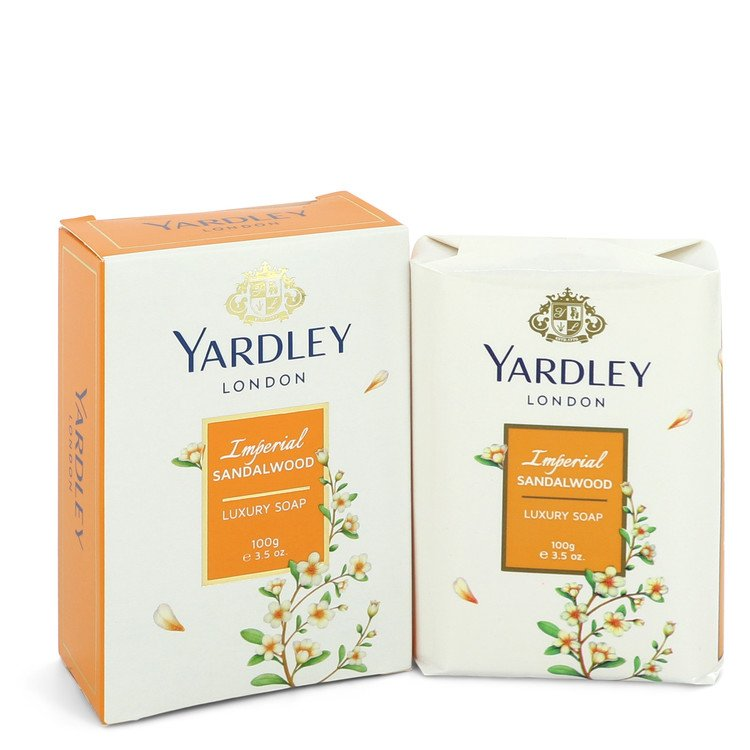 Yardley London Soaps by Yardley London Women's Imperial Sandalwood Luxury Soap 3.5 oz