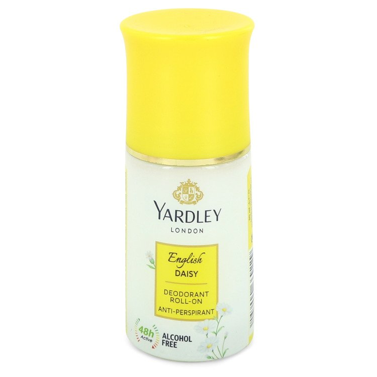 Yardley English Daisy by Yardley London Women's Deodorant Roll-On Alcohol Free 1.7 oz