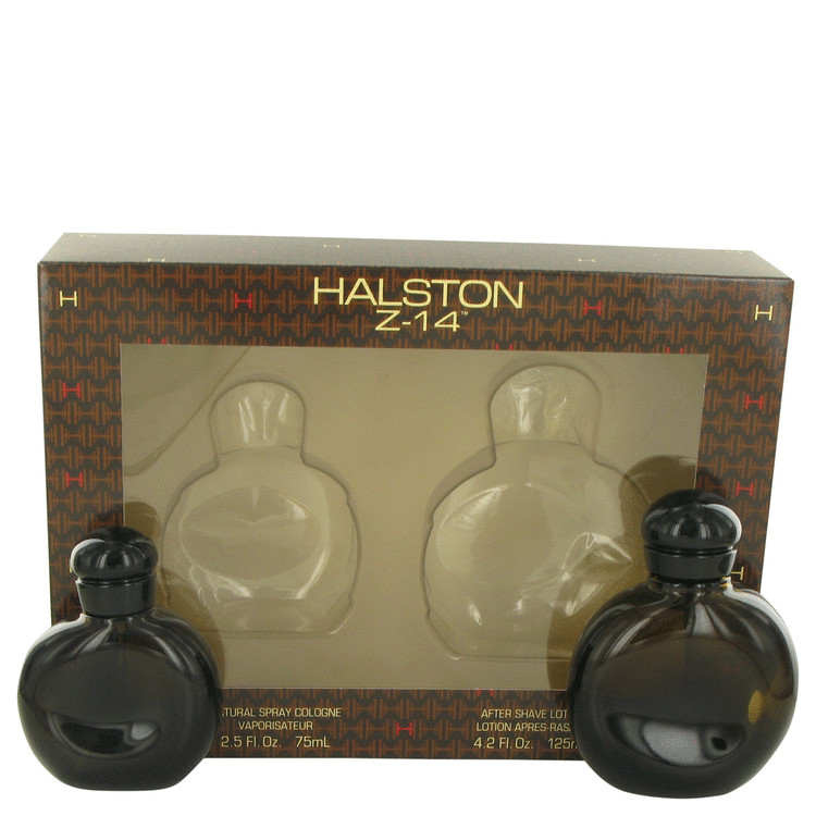 Halston Z-14 Gift Set -- Gift Set - 2.5 oz Cologne Spray + 4.2 oz After Shave for Men