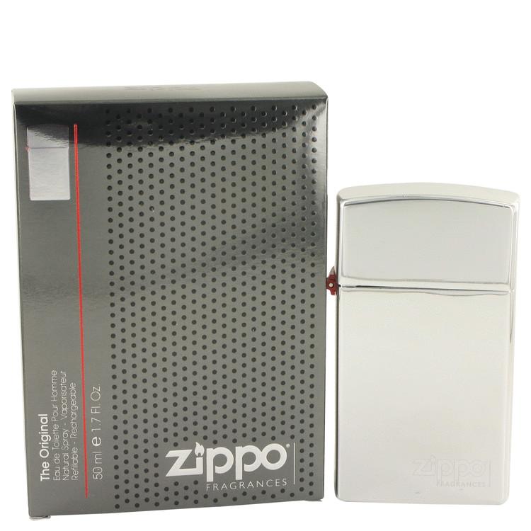Zippo Original by Zippo for Men Eau De Toilette Spray Refillable 1.7 oz