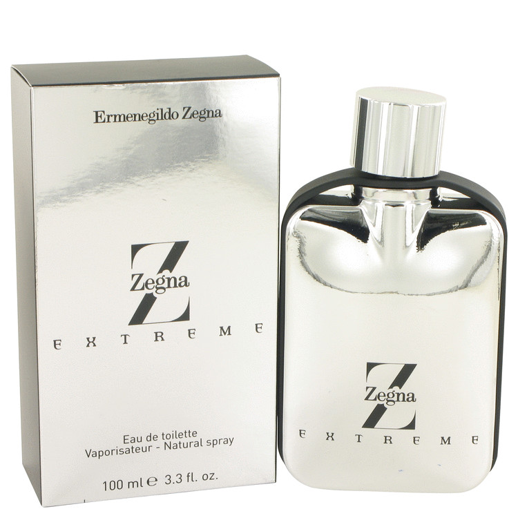 Z Zegna Extreme Cologne by Ermenegildo Zegna 100 ml EDT Spay for Men